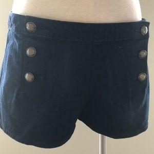 Dark blue jeans shorts